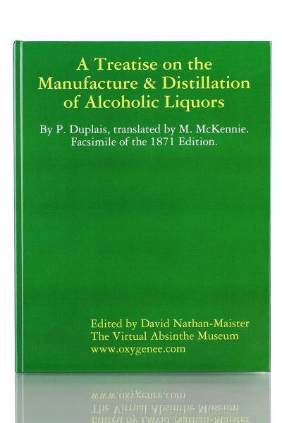 Buch - P. Duplais: A Treatise on the Manufacture & Distillation of Alcoholic Liquors
