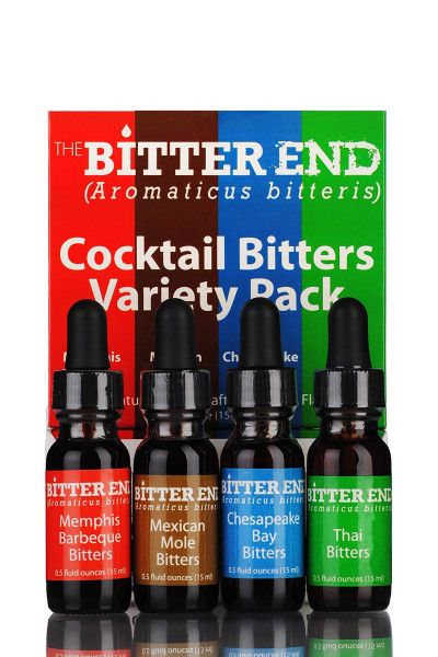 Cocktail Bitters The Bitter End Variety Pack 45% - 60ml