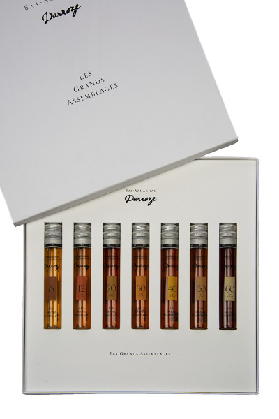 Armagnac Darroze Set 7 x 50ml 43% - 0,35l