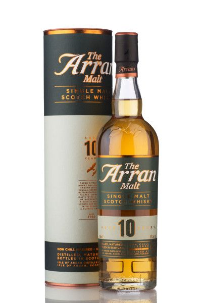 Arran Single Malt Whisky 10 Jahre 46% - 0,7l