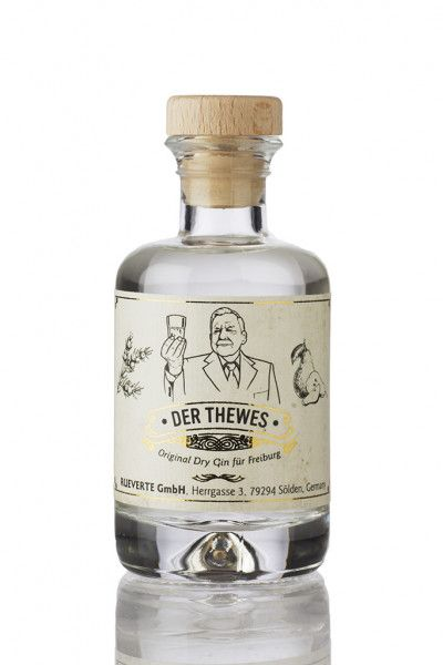 Original Dry Gin DER THEWES Gin 45% - 0,1l