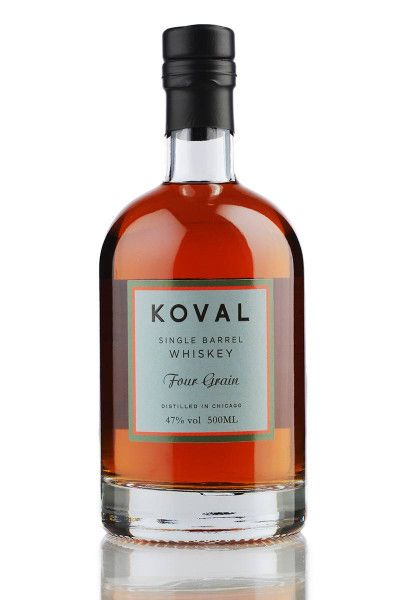 Whiskey Koval Four Grain Single Barrel Whiskey 47% - 0,5l