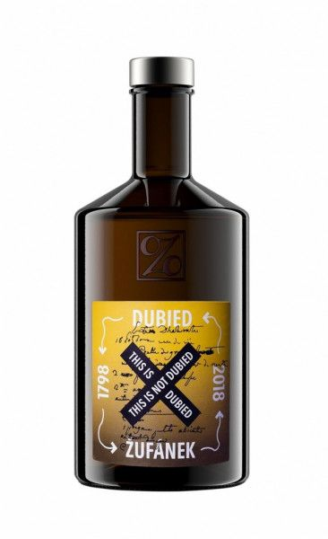 Absinth This is not Dubied - Zufanek 1798 70% - 0,5l