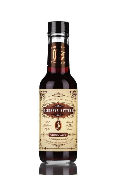 Cocktail Bitters Scrappy's Bitters - Chocolate 47,6% - 0,15l