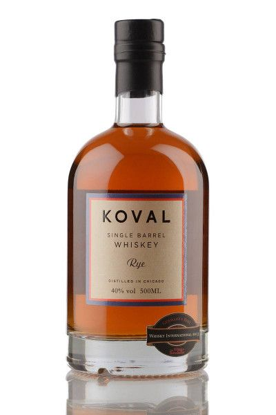 Whiskey Koval Rye Single Barrel Whiskey 40% - 0,5l
