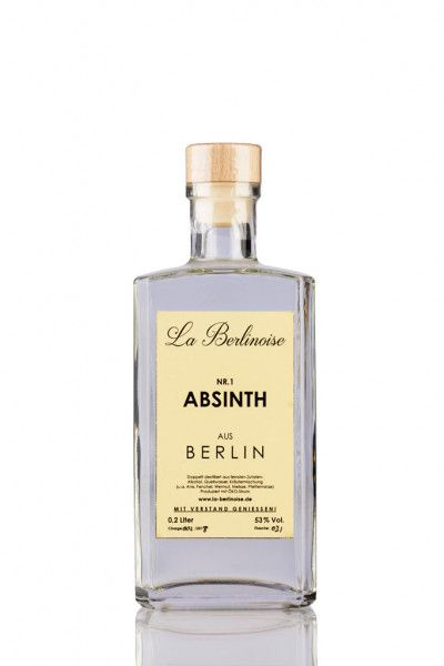 Absinth La Berlinoise Nr. 1 53% - 0,2l