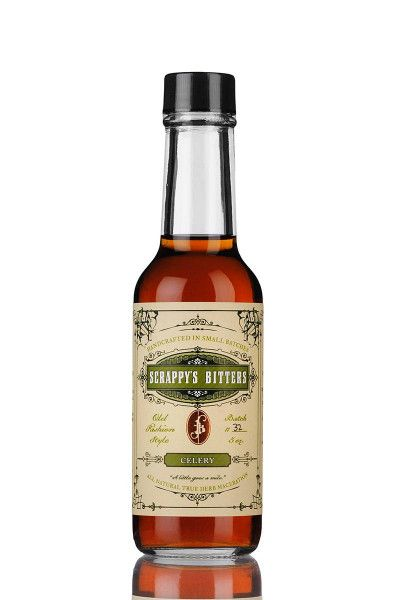 Cocktail Bitters Scrappy's Bitters - Celery 49,7% - 0,15l