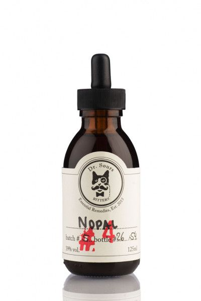 Mexican Cocktail Bitters Dr. Sours #4 - Nopal 39% - Kaktus - 0,125l